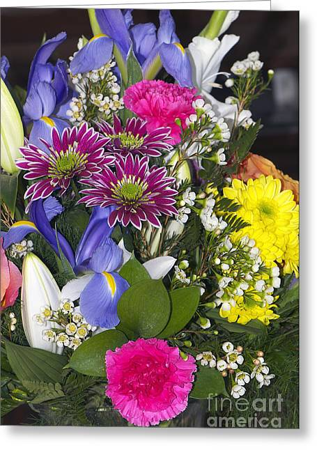 Floral Bouquet 2 Greeting Card by Sharon Talson