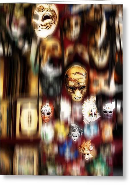 Florentine Masks Greeting Card