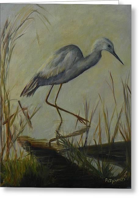 Florida Native Bird On A Fall Morning Greeting Card