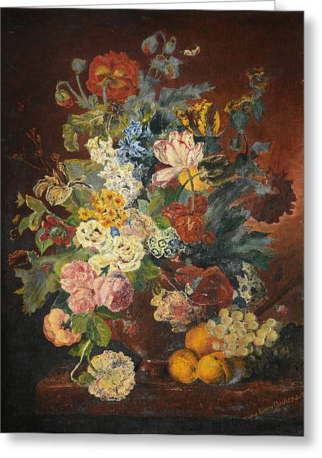 Flowers Of Light Greeting Card