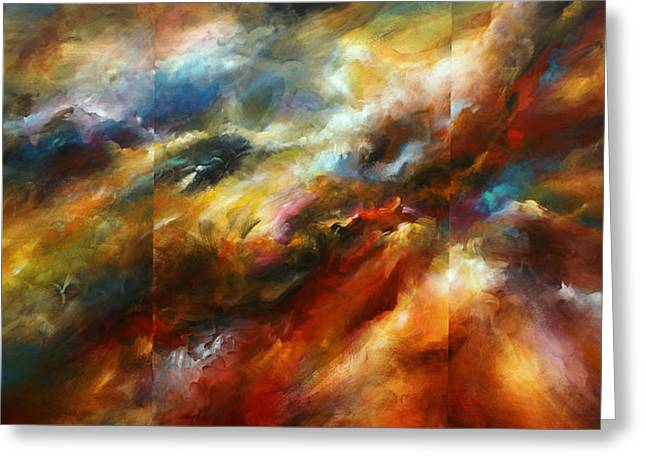 'force Of Nature' Greeting Card by Michael Lang