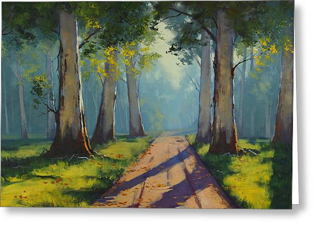 Forest Gums Greeting Card