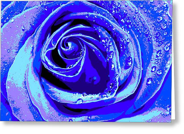 Forever In Blue Greeting Card