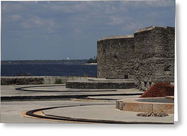 Fort Clinch 2 Greeting Card by Cathy Lindsey