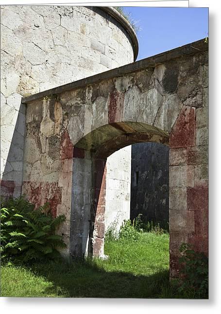 Fort Monostor In Komarom (monostori Greeting Card
