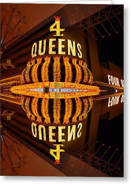 Four Queens 2 Greeting Card by Michael Anthony
