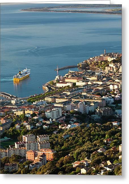 France, Corsica, Le Cap Corse, Bastia Greeting Card