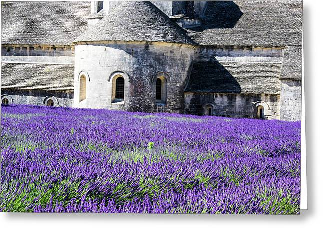 France, Provence, Seananque Abbey Greeting Card by Terry Eggers