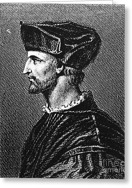 Francois Rabelais Greeting Card by Granger
