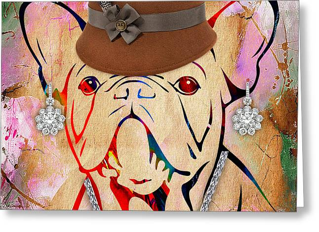 French Bulldog Collection Greeting Card