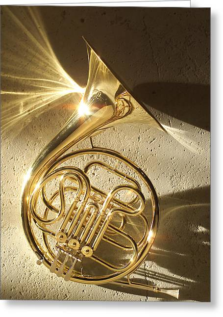 French Horn II Greeting Card