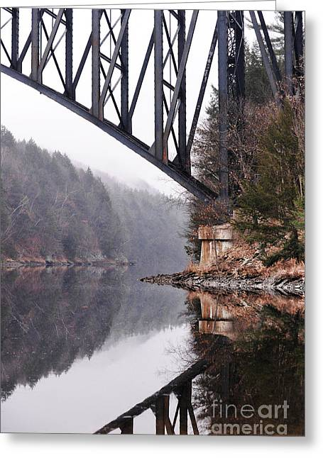 French King Bridge Greeting Card by HD Connelly