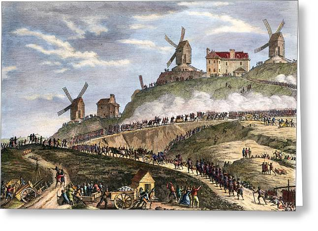 French Revolution Paris Greeting Card by Granger
