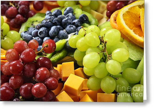 Fresh Fruits Greeting Card by Elena Elisseeva