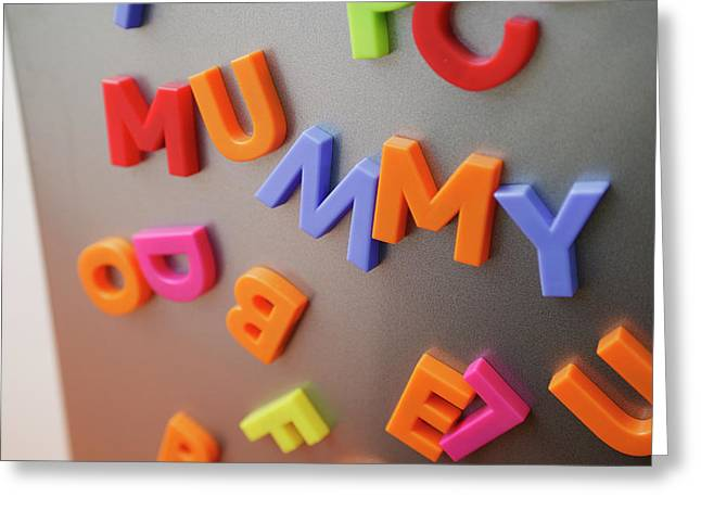 Fridge Magnets Greeting Card by Michael Donne/science Photo Library