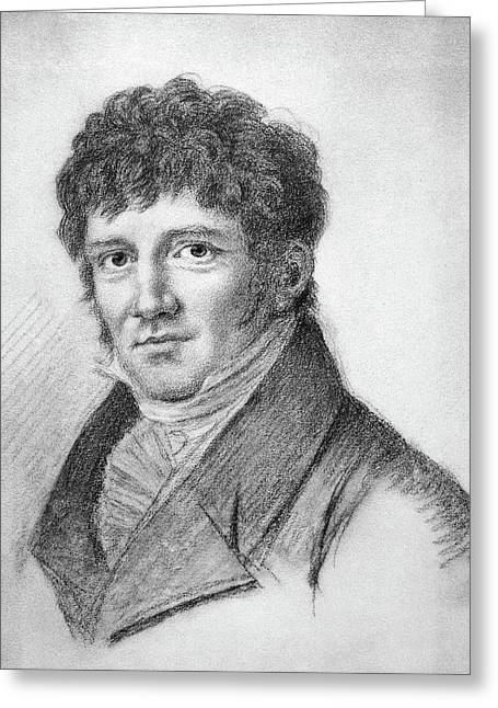 Friedrich Wilhelm Bessel (1784-1846) Greeting Card by Granger