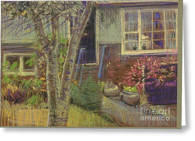Front Door Greeting Card by Donald Maier