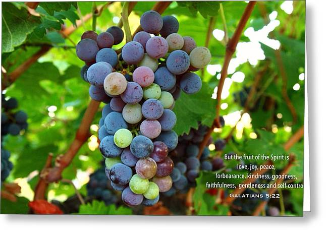 Fruit Of The Spirit Greeting Card