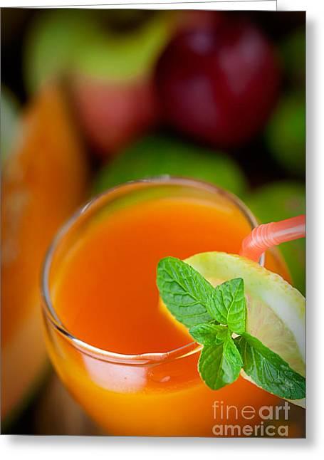 Fruit Variety Greeting Card by Mythja  Photography