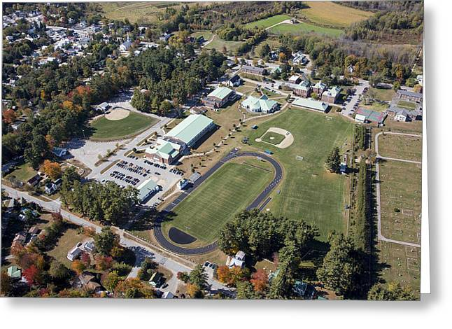 Fryeburg Academy, Maine Me Greeting Card by Dave Cleaveland