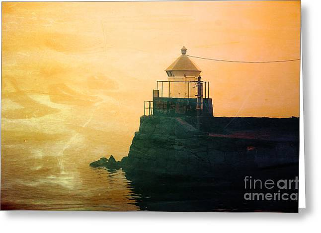 Fyllinga Lighthouse Greeting Card