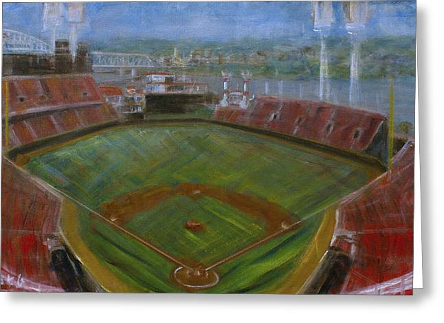 Gabp Greeting Card by Josh Hertzenberg