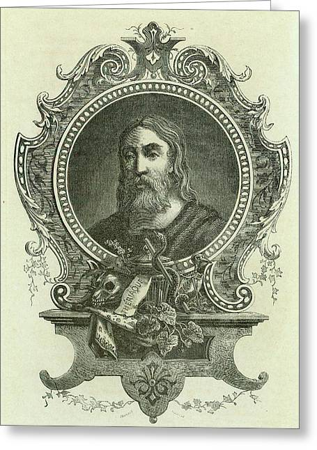 Galen Greeting Card by Universal History Archive/uig