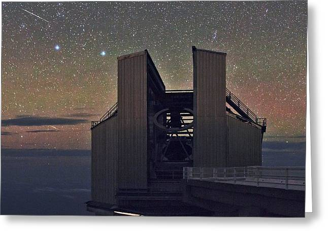 Galileo Telescope Greeting Card by Babak Tafreshi