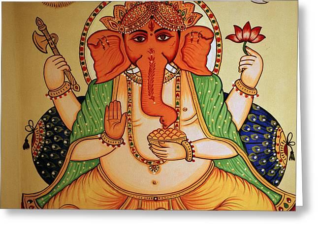 Spiritual India Greeting Card