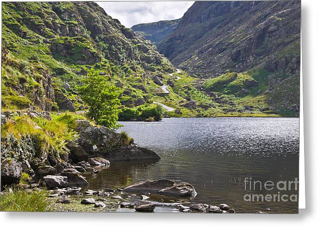 Gap Of Dunloe Lake Greeting Card by Jane McIlroy