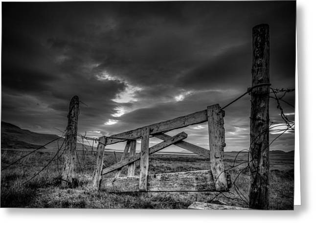 Gate To... Greeting Card by Alexey Stiop