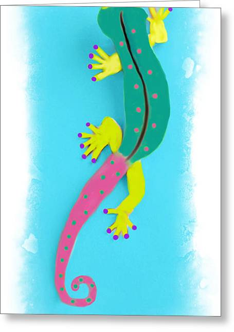 Gecko Two Greeting Card