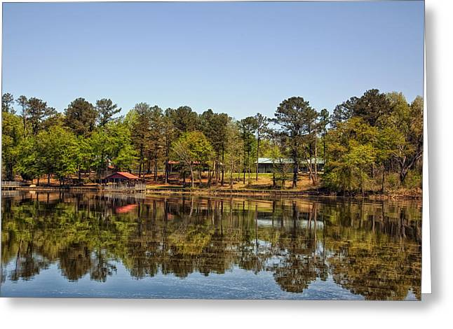 Gee's Bend Alabama Greeting Card by Mountain Dreams