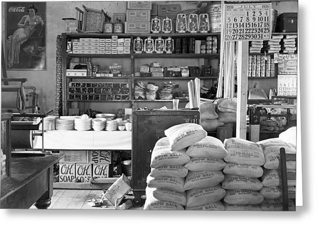 General Store, 1936 Greeting Card by Granger