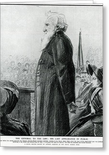 General William Booth  Founder Greeting Card by Mary Evans Picture Library
