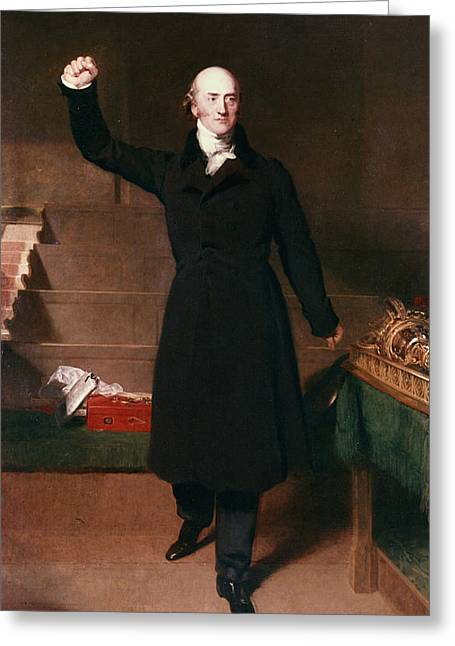 George Canning (1770-1827) Greeting Card by Granger