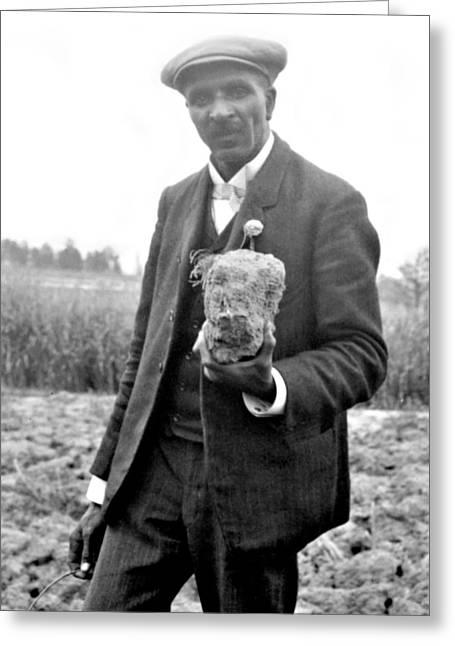 George W. Carver, American Botanist Greeting Card