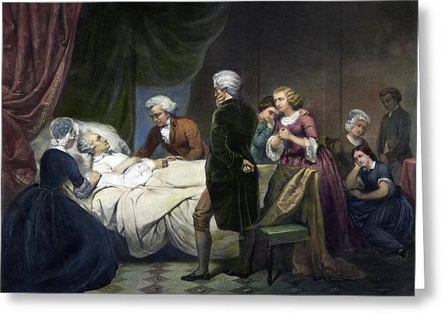 George Washington(1732-1799) Greeting Card