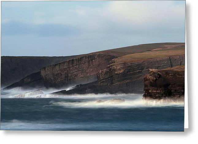 Georges Head Kilkee Greeting Card