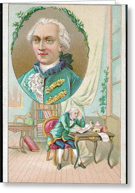 Georges-louis Leclerc Alias Buffon Greeting Card by Mary Evans Picture Library