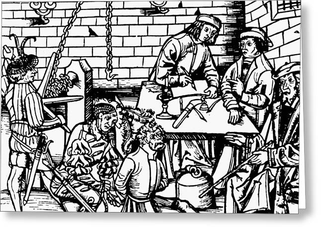 Germany Witch Trial Greeting Card