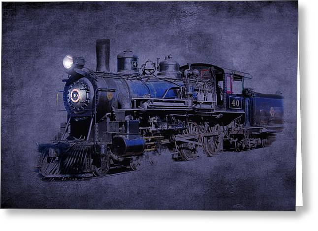 Greeting Card featuring the photograph Ghost Train by Gunter Nezhoda
