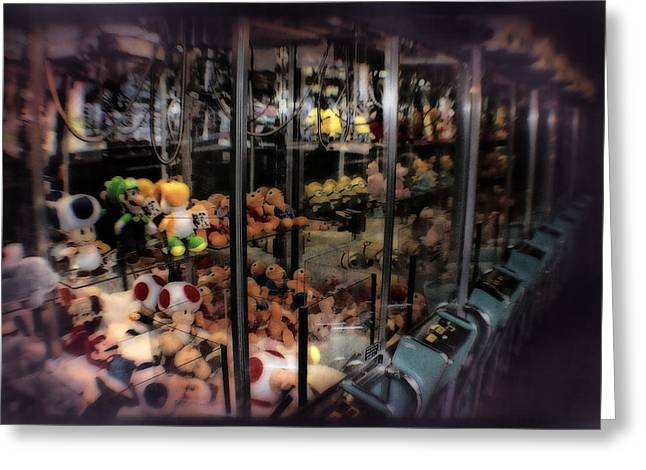 Ghosts Of The Arcades - The Toys Come Out At Night To Play Greeting Card