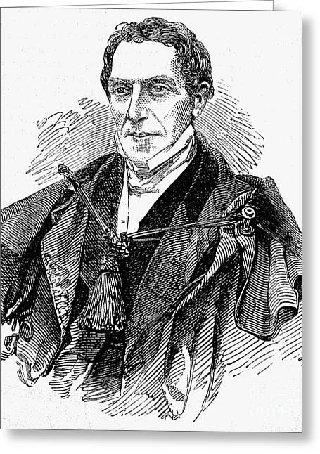 Gideon Algernon Mantell Greeting Card by Granger