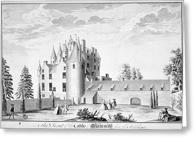 Glamis Castle Greeting Card by British Library