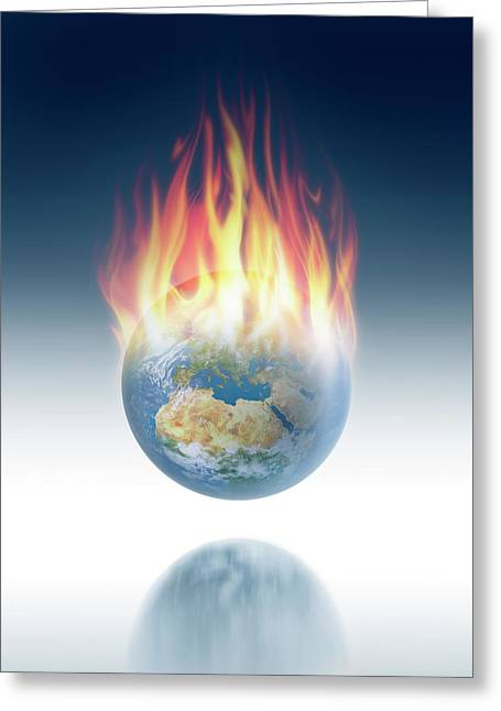 Global Warming Greeting Card