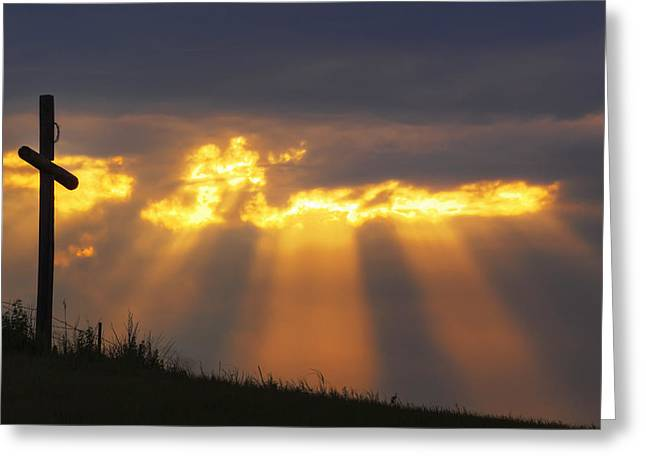 Greeting Card featuring the photograph Glorious Sunrise by Rob Graham