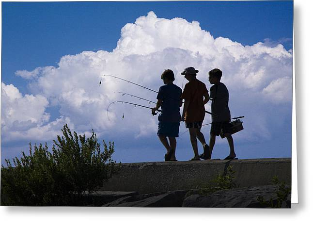 Going Fishing Greeting Card