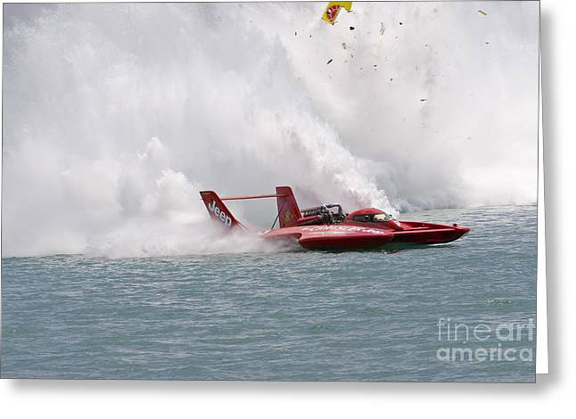 Gold Cup Hydroplane Races Greeting Card