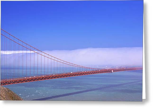 Golden Gate Bridge, California, Usa Greeting Card